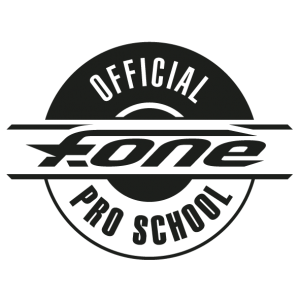 Logo_F-ONE Offical Pro School blk