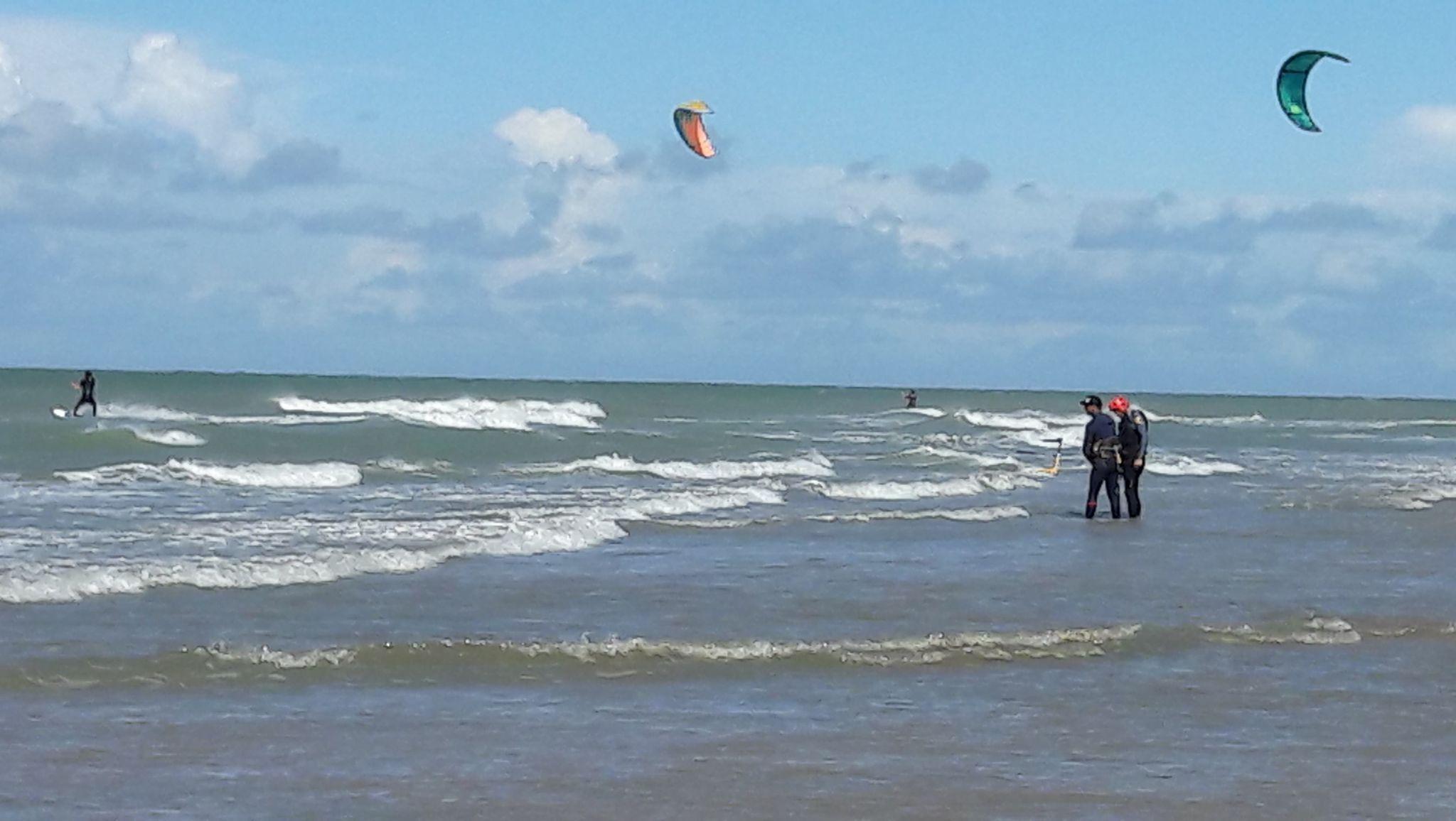 shooting photos école de kitesurf cap blanc nez